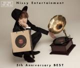 BEST ALBUM『Nissy Entertainment 5th Anniversary BEST』ジャケット写真