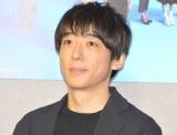 NHK土曜ドラマ『みかづき』の試写会後会見に出席した高橋一生 (C)ORICON NewS inc.