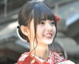 晴れ着姿で成人式を行った乃木坂46・齋藤飛鳥 (C)ORICON NewS inc.