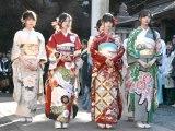 晴れ着姿で成人式を行った乃木坂46 (C)ORICON NewS inc.