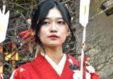 晴れ着姿で成人式を行った乃木坂46・寺田蘭世 (C)ORICON NewS inc.