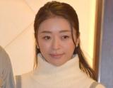 映画『車線変更−キューポラを見上げて』の制作発表記者会見した中川知香 (C)ORICON NewS inc.