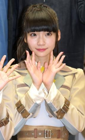 荻野由佳=『新章 NGT48宣言!! 〜世界の人よ、共に歌おう〜』 (C)ORICON NewS inc.