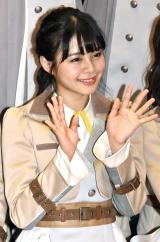 本間日陽=『新章 NGT48宣言!! 〜世界の人よ、共に歌おう〜』 (C)ORICON NewS inc.