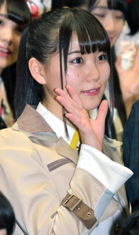 小熊倫実=『新章 NGT48宣言!! 〜世界の人よ、共に歌おう〜』 (C)ORICON NewS inc.
