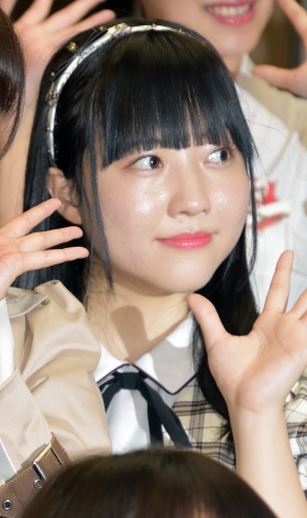 日下部愛菜=『新章 NGT48宣言!! 〜世界の人よ、共に歌おう〜』 (C)ORICON NewS inc.