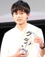 『HORIPRO Men's STAR AUDITION』でグランプリを獲得した群馬出身の中3・鍛治原日向さん (C)ORICON NewS inc.