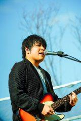 活動再開を発表したflumpool・阪井一生(撮影:渡邉一生)