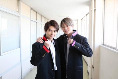 『アオハル(青春)TV』初回2時間SPで1月27日スタート。(左から)Sexy Zoneの佐藤勝利、菊池風磨2人で初レギュラー(C)フジテレビ