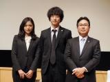 右端の俳優さんは法律監修を担当する室谷光一郎弁護士 (C)ORICON NewS inc.