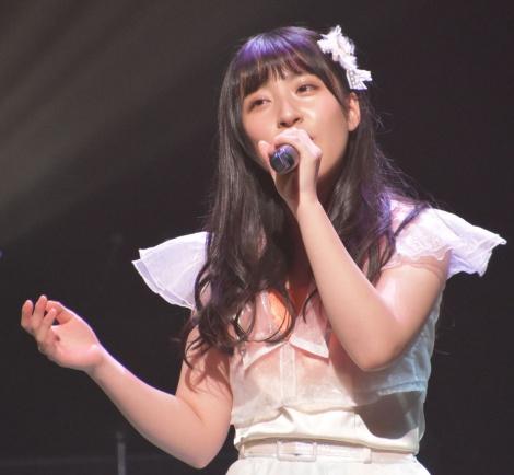 第1組1位でファイナルに進出した山崎亜美瑠(NMB48)=『AKB48グループ歌唱力No.1決定戦』決勝大会(C)ORICON NewS inc.