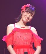 第1組2位でファイナルに進出した坂本愛玲菜(HKT48)=『AKB48グループ歌唱力No.1決定戦』決勝大会(C)ORICON NewS inc.