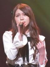 『AKB48グループ歌唱力No.1決定戦』決勝大会 第1組 神志那結衣(HKT48) (C)ORICON NewS inc.