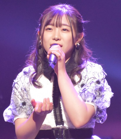 『AKB48グループ歌唱力No.1決定戦』決勝大会 第3組-武田智加(HKT48) (C)ORICON NewS inc.