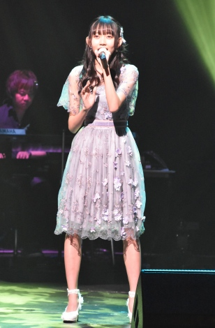ファイナリスト最終歌唱者として「春風」を歌った野島樺乃(SKE48) (C)ORICON NewS inc.