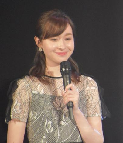『AKB48グループ歌唱力No.1決定戦』決勝大会の司会を務めた宇賀神メグアナウンサー (C)ORICON NewS inc.