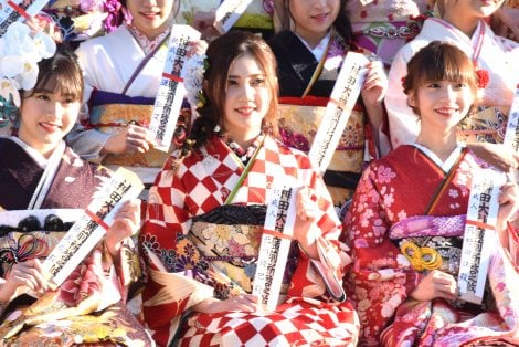 『AKB48グループ 2019年新成人メンバー 成人式記念撮影会』に参加した北川綾巴 (C)ORICON NewS inc.