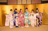 『AKB48グループ 2019年新成人メンバー 成人式記念撮影会』に参加したSKE48(左から)藤本冬香、井田玲音名、北川綾巴、荒井優希、山田樹奈、白雪希明(C)AKS