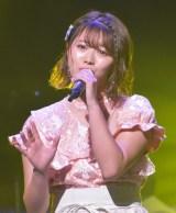 第4組2位でファイナルに進出した山内鈴蘭(SKE48) =『AKB48グループ歌唱力No.1決定戦』決勝大会(C)ORICON NewS inc.