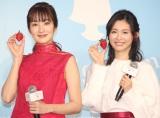 (左から)高梨臨、本仮屋ユイカ (C)ORICON NewS inc.