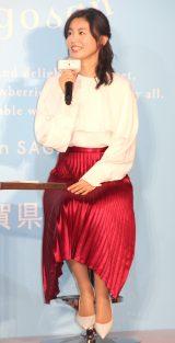 『GLAMPING CAFE153 From SAGA』オープニングイベントに出席した本仮屋ユイカ (C)ORICON NewS inc.