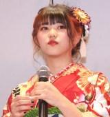『振袖TEENS』お披露目イベントに出席したよしかわなみ (C)ORICON NewS inc.