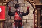 19日放送のバラエティー番組『超逆境クイズバトル!! 99人の壁』にデーモン閣下が参戦(C)フジテレビ