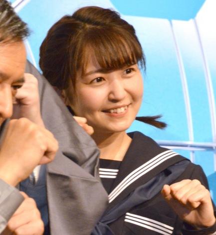 舞台『トリッパー遊園地』の製作発表記者会見に出席したSKE48・惣田紗莉渚 (C)ORICON NewS inc.