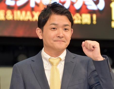 映画『TAXi ダイヤモンド・ミッション』のイベントに登場した千鳥・ノブ (C)ORICON NewS inc.