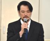 メンバーの脱退・芸能界引退発表を受け会見を行った純烈・小田井涼平 (C)ORICON NewS inc.