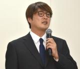 メンバーの脱退・芸能界引退発表を受け会見を行った純烈・酒井一圭 (C)ORICON NewS inc.