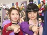 SKE48と乃木坂46のグループの色の違いを語った(左から)元SKE48・大矢真那、乃木坂46・中村麗乃 (C)ORICON NewS inc.