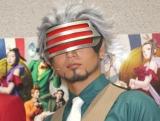 舞台『逆転裁判 -逆転のGOLD MEDAL-』の公演前囲み取材に登場した友常勇気 (C)ORICON NewS inc.