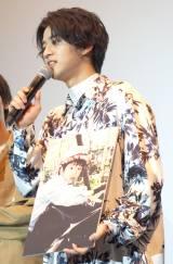 映画『愛唄 −約束のナクヒト−』親子試写会に出席した飯島寛騎 (C)ORICON NewS inc.