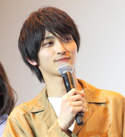 映画『愛唄 −約束のナクヒト−』親子試写会に出席した横浜流星 (C)ORICON NewS inc.