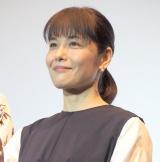 映画『愛唄 −約束のナクヒト−』親子試写会に出席した富田靖子 (C)ORICON NewS inc.