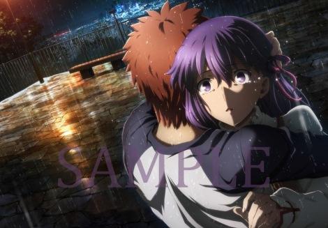 劇場版『Fate』第二章の第2週来場者特典のクリアポスターファイルの絵柄 (C)TYPE-MOON・ufotable・FSNPC