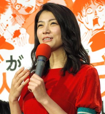 NHK『ゾンビが来たから人生見つめ直した件』の試写会に出席した瀧内公美 (C)ORICON NewS inc.