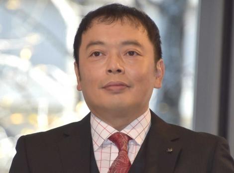 『MARUNOUCHI RUGBY FESTIVAL』ベンチアート除幕式に出席した中川家・礼二 (C)ORICON NewS inc.