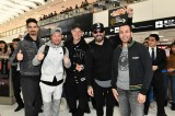 1月16日に5年ぶりに来日したバックストリート・ボーイズ(左から)ケヴィン、ブライアン、ニック、AJ、ハウイー