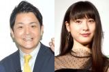 ゴチ新メンバー(左から)千鳥ノブ、土屋太鳳 (C)ORICON NewS inc.