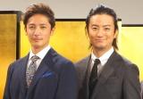 一緒に遊んでいた仲間と語った(左から)玉木宏、上地雄輔(C)ORICON NewS inc.