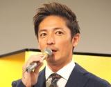 NHK BSプレミアム放送のドラマ『盤上のアルファ〜約束の将棋〜』の取材会に出席した玉木宏