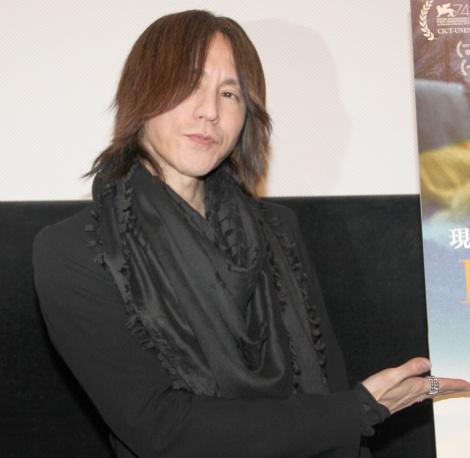 映画『ヒューマン・フロー 大地漂流』公開記念トークイベントに出席SUGIZO (C)ORICON NewS inc.