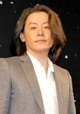 肺腺がんの手術を受けたことを報告した河村隆一(2011年10月撮影) (C)ORICON NewS inc.