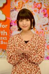 日本テレビ系『ZIP!』放送2000回を前に取材会に参加した川島海荷 (C)ORICON NewS inc.