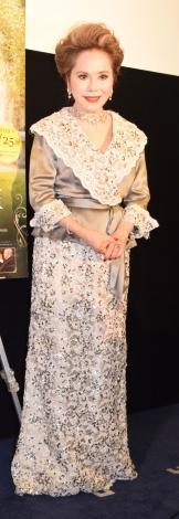 映画『ヴィクトリア女王 最期の秘密』のトークイベントに出席したデヴィ夫人 (C)ORICON NewS inc.