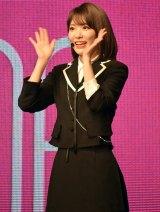『IZ*ONE日本デビューショーケース-1stシングル「好きと言わせたい」発売記念イベント-』より(C)ORICON NewS inc.