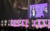 「アイズ・オン・ミー、こんにちは、IZ*ONEです」とあいさつ=『IZ*ONE日本デビューショーケース-1stシングル「好きと言わせたい」発売記念イベント-』(C)ORICON NewS inc.