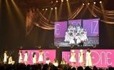 「La Vie en Rose」3倍速ダンスが成功したかをチェックするメンバーたち=『IZ*ONE日本デビューショーケース-1stシングル「好きと言わせたい」発売記念イベント-』より(C)ORICON NewS inc.